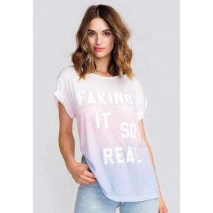 Wildfox Faking it So Real Shirt